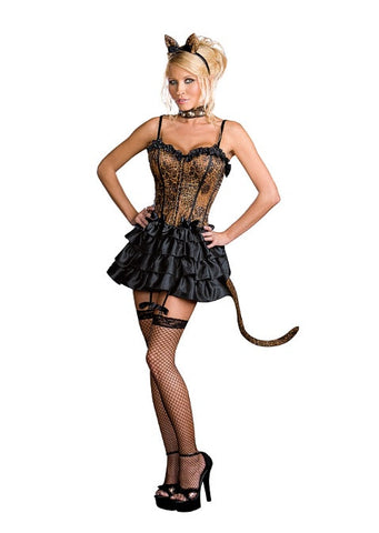 Bonjour Kitty - Women's Sexy Complete Costume
