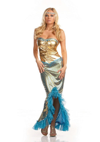 Sea Worthy Mermaid - Women's Sexy Adult Costume