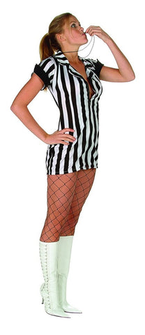 Time Out Referee Women's Sexy Costume