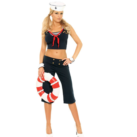 First Mate - Women's Sexy Adult Sailor Costume
