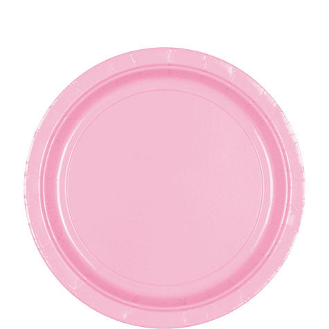 "New Pink 7"" Luncheon Paper Plates (20 Ct.)"