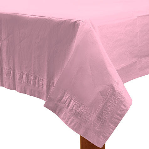 "New Pink Paper Table Cover (54"" x 108"")"