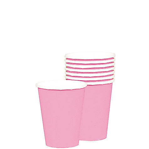 New Pink 9 Oz. Paper Cups (20 Ct.)