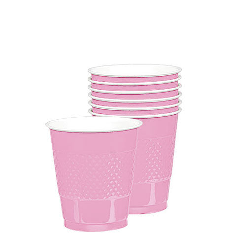 New Pink 12 Oz. Plastic Cups (20 Ct.)