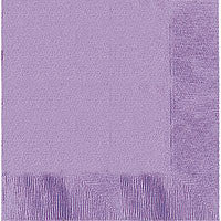 Lavender Dinner Napkins 50Ct