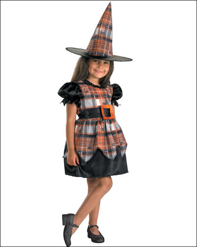 Spider Plaid Witch - Toddler's Costume