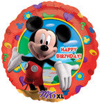 "18"" Happy Birthday Mickey's Clubhouse Balloon"