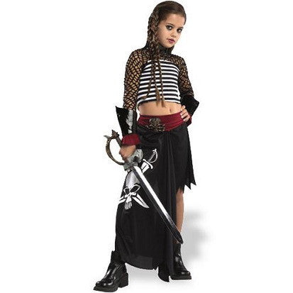 Ship Wrecked Girl's Pirate Costume