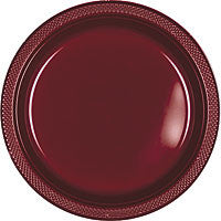 "Berry 9""  Plastic Dinner Plates 20Ct"