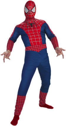 Spider-Man - Adult Unisex Spiderman Full-Body Costume