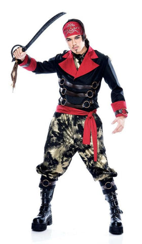 Apocalypse Pirate - Men's Costume