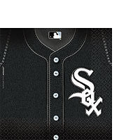 Lunch Napkins Chicago White Sox 36Ct