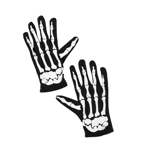 Skeleton Printed Gloves