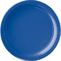 "Bright Royal Blue 10.25"" Paper Dinner Plates 20Ct"
