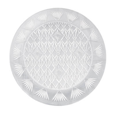 "13"" Round Diamond Cut Trays"