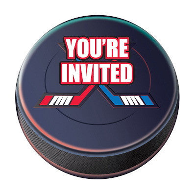 Hockey Postcard Invitations