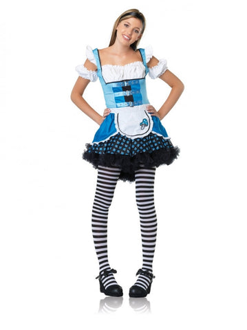 Jr. Magic Mushroom Alice - Teen Girl's Costume (Small)