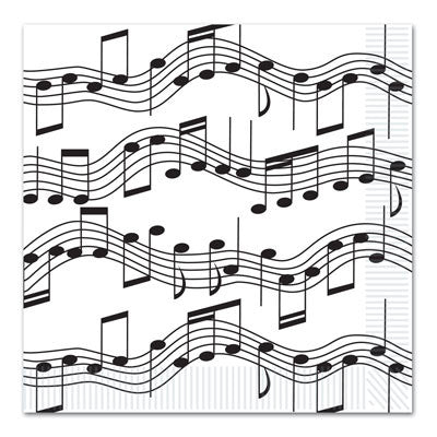 Musical Note Lunch Napkin
