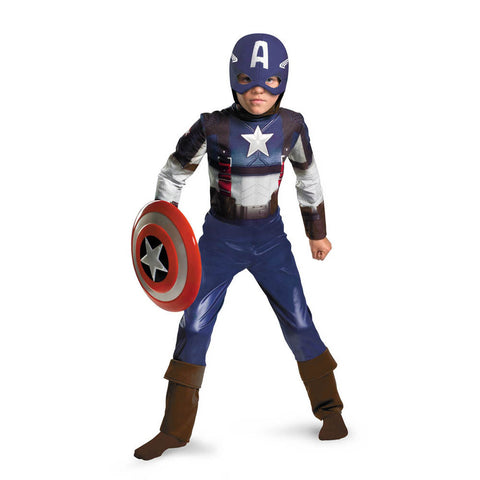 Captain America: The First Avenger - Boy's Classic Costume