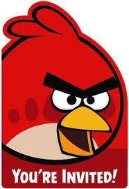 Angry Birds Invites 8ct