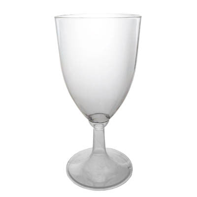 1 Pc. 8 oz Wine Glasses - Clear 8 Ct. Boxes