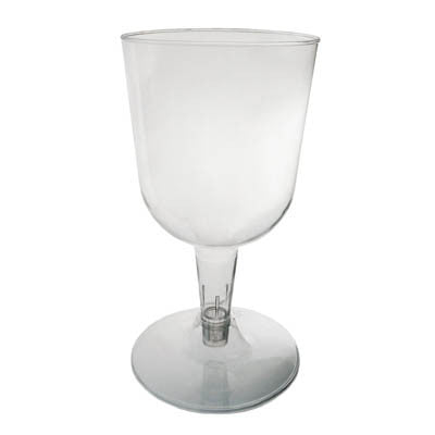 2 Pc. Wine Glasses - Clear 20 Ct.