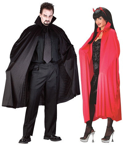 "Red 45"" Polyester Cape"