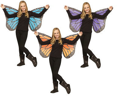 Child FabricButterfly Wings For Ages 8 and Up