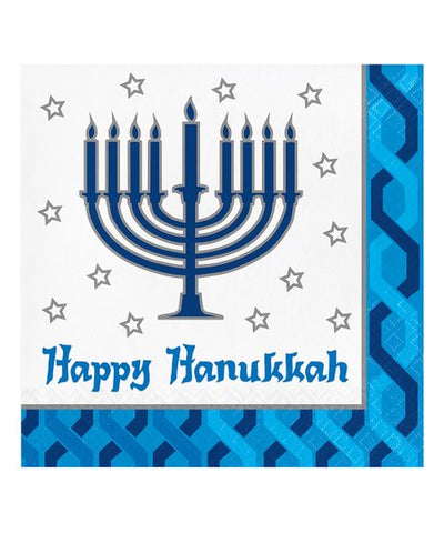 Menorah Lunch Napkins