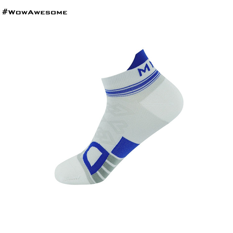 MadMatch Design MMD White Pink Womens Mens Sports Boot Ankle Socks for Men Women - WowAwesomeStuff  - 13