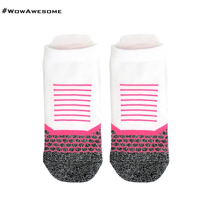 2 MadMatch Design MMD Sporty Black Stripes Womens Mens Sports Boot Ankle Socks for Men Women - WowAwesomeStuff  - 13