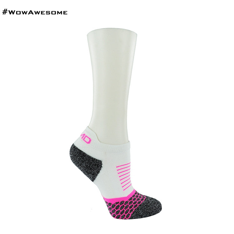 2 MadMatch Design MMD Sporty Black Stripes Womens Mens Sports Boot Ankle Socks for Men Women - WowAwesomeStuff  - 16