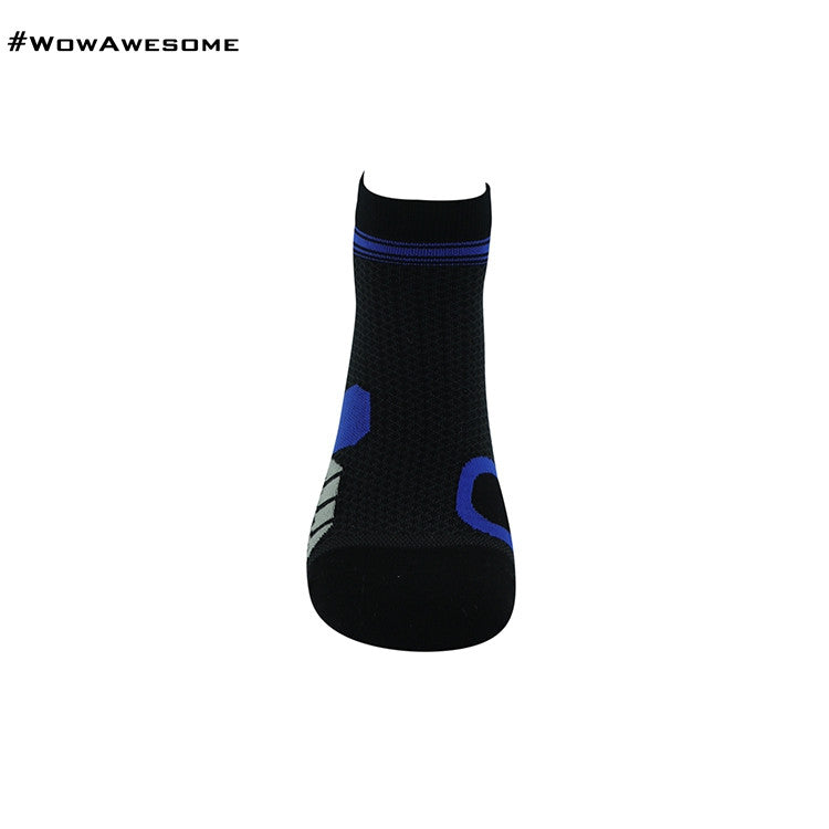 MadMatch Design MMD Black Green Womens Mens Sports Boot Ankle Socks for Men Women - WowAwesomeStuff  - 6
