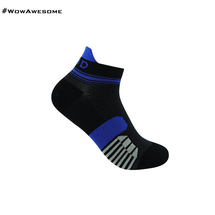 MadMatch Design MMD Black Green Womens Mens Sports Boot Ankle Socks for Men Women - WowAwesomeStuff  - 8