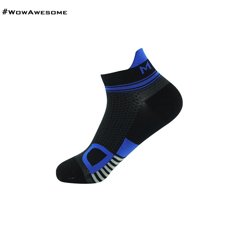 MadMatch Design MMD Black Green Womens Mens Sports Boot Ankle Socks for Men Women - WowAwesomeStuff  - 5