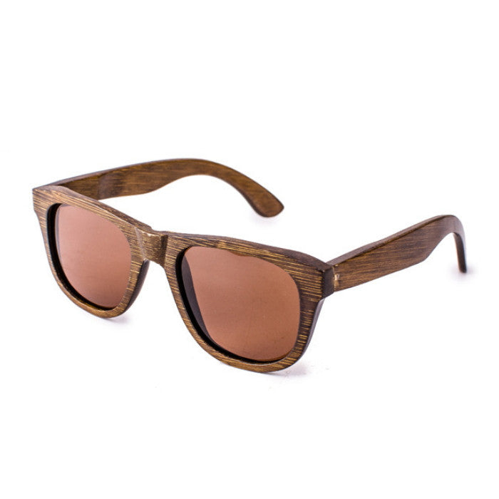 Classical Brown Handmade Wood Women Men Pilot Sunglasses Shades Goggles - WowAwesomeStuff  - 3