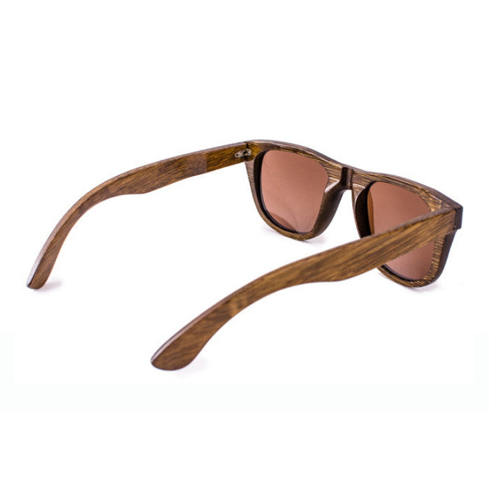 Classical Brown Handmade Wood Women Men Pilot Sunglasses Shades Goggles - WowAwesomeStuff  - 5