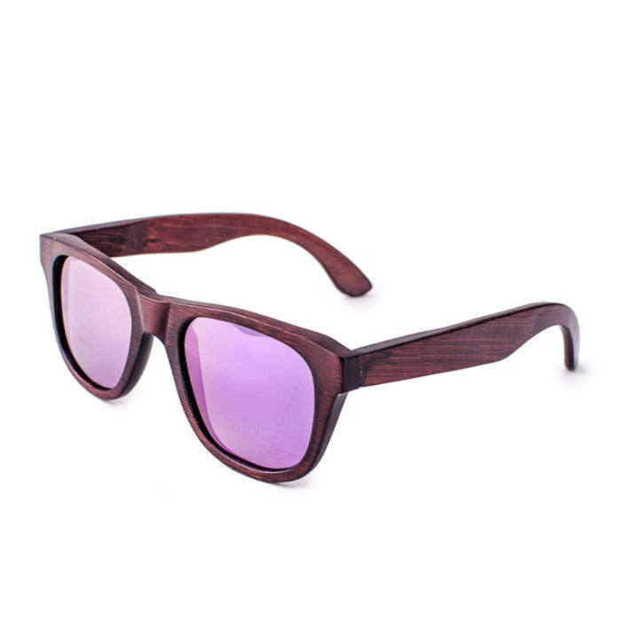 Purple Handcrafted Aviator Retro Sunglasses Shades Sunnies - WowAwesomeStuff  - 3