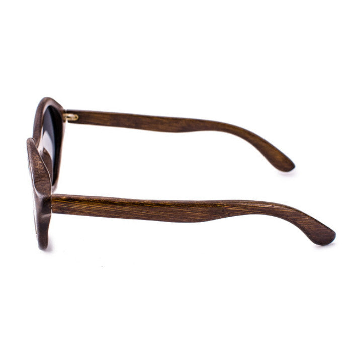 Round Brown Handcrafted Wood Sunglasses Shades Goggles - WowAwesomeStuff  - 4
