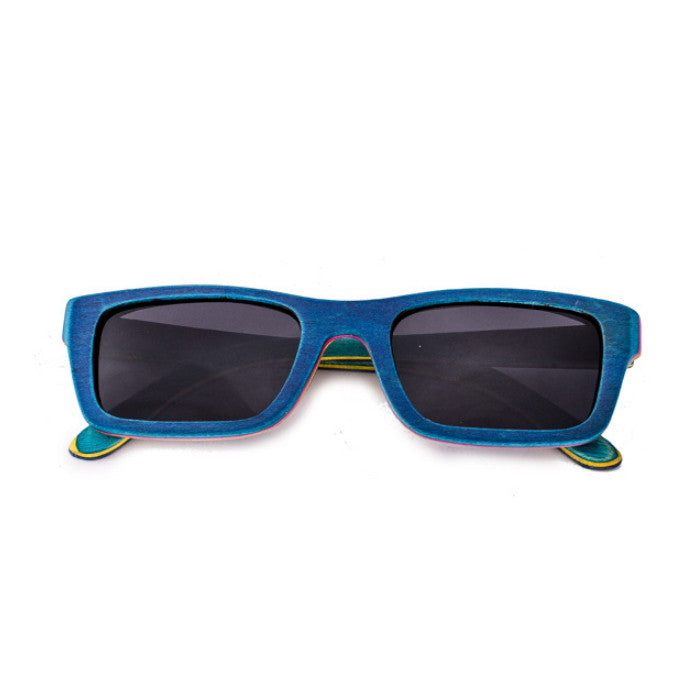 Blue Skateboard made Handmade Mens Womens Sunglasses Shades Sunnies - WowAwesomeStuff  - 1