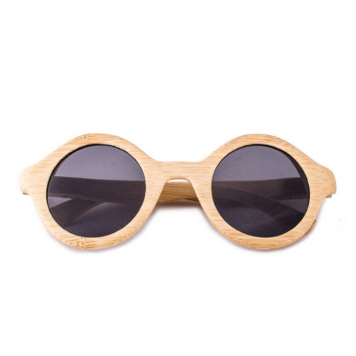 2016 Spring Unique Design Bamboo Handmade Retro Wood Sunglasses for Women Men Shades Sun Glasses - WowAwesomeStuff  - 1