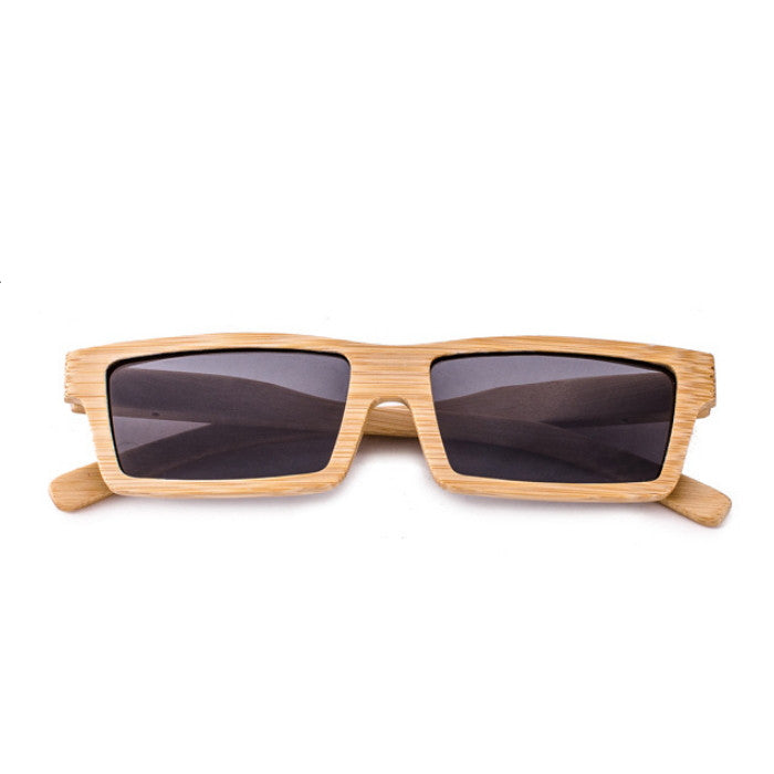 2016 Brand NEW Bamboo Pilot Women Men Retro Handmade Wood Sunglasses Shades Sunnies Sun Glasses for Women Men - WowAwesomeStuff  - 1
