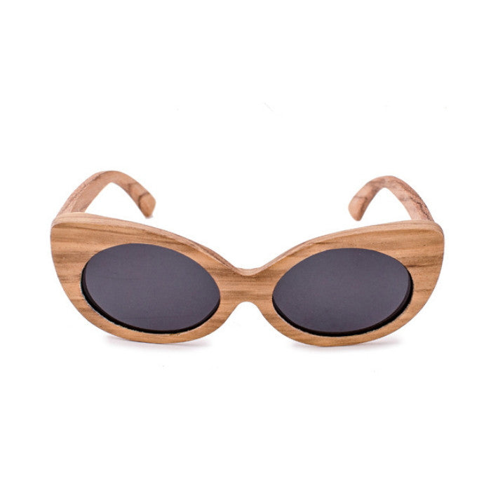 Very Unique Cat Eye Design Handmade Ladies Wood Sunglasses Shades Sunnies Sun Glasses for Women Men - WowAwesomeStuff  - 2