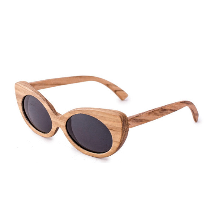 Very Unique Cat Eye Design Handmade Ladies Wood Sunglasses Shades Sunnies Sun Glasses for Women Men - WowAwesomeStuff  - 3
