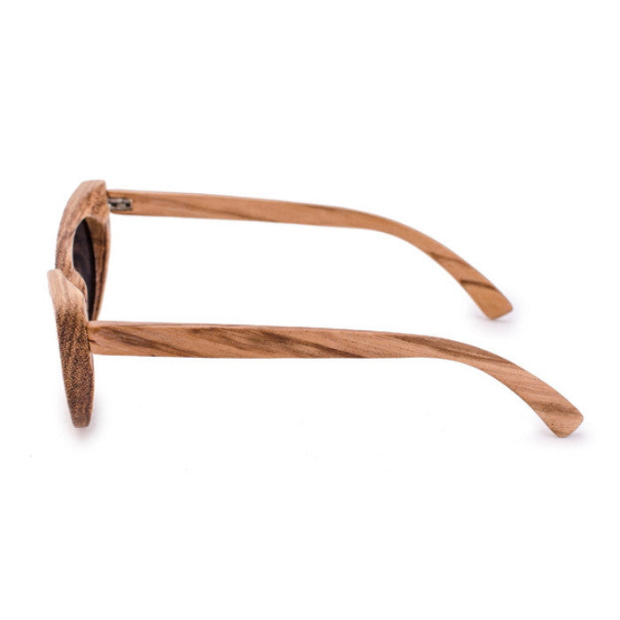 Very Unique Cat Eye Design Handmade Ladies Wood Sunglasses Shades Sunnies Sun Glasses for Women Men - WowAwesomeStuff  - 4