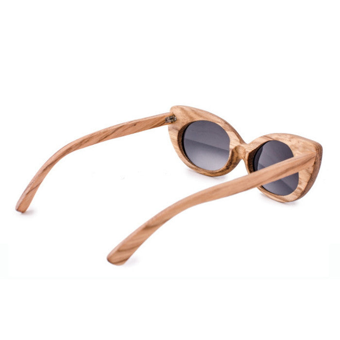 Very Unique Cat Eye Design Handmade Ladies Wood Sunglasses Shades Sunnies Sun Glasses for Women Men - WowAwesomeStuff  - 5
