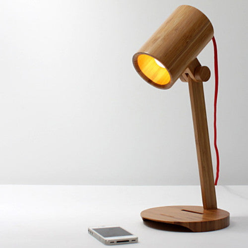 Handmade Bamboo Standing Reading Lamp Lighting Light - WowAwesomeStuff  - 1