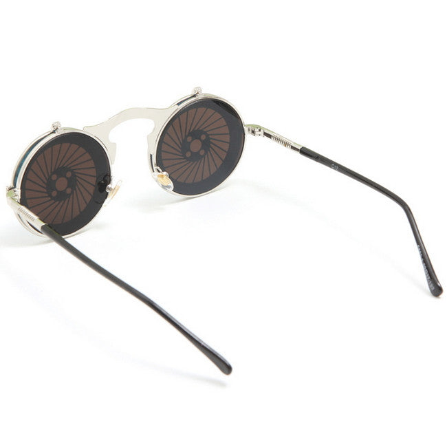 Blue Unique Steampunk Punk Burning Man Mens Womens Sunglasses Shades Sun Glasses - WowAwesomeStuff  - 4