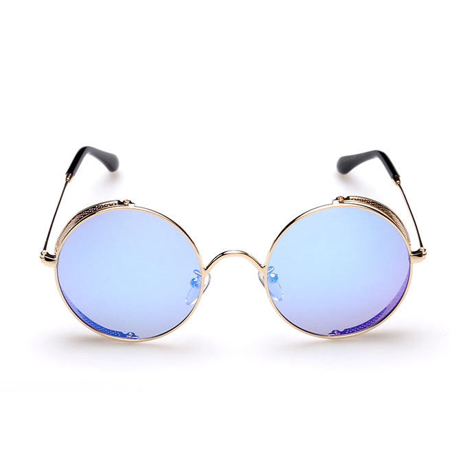 2016 Spring Brand New 6 Colors Retro Vintage Style Steampunk Punk Sunglasses Shades Goggles Sun Glasses for Women Men - WowAwesomeStuff  - 8