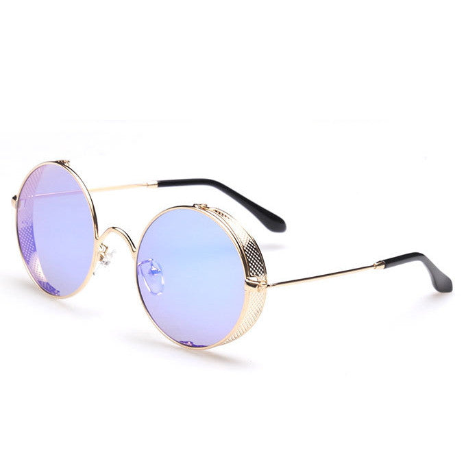 2016 Spring Brand New 6 Colors Retro Vintage Style Steampunk Punk Sunglasses Shades Goggles Sun Glasses for Women Men - WowAwesomeStuff  - 7